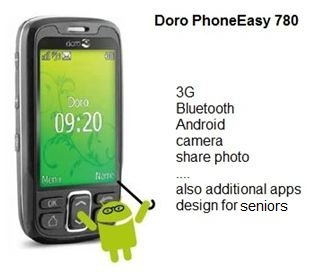 Doro PhoneEasy 780 smartphone1 Senior Friendly Smartphones