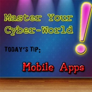 cyber world tip_mobile apps via groovypinkblog