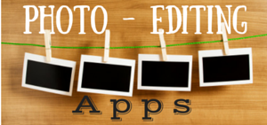 19 Photo Editing Apps – Part 1
